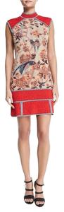 Missoni short dress Red Multi on Tradesy