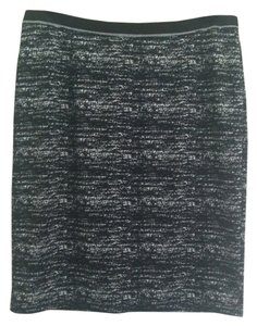 Calvin Klein Skirt Black White