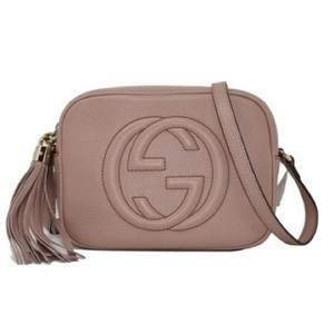 4b56e33727b8 Added to Shopping Bag. Gucci Cross Body Bag. Gucci Soho Disco Dark Capria  Leather ...