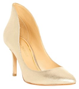 Enzo Angiolini Metallic Gold Pumps