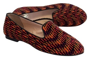 Missoni Multi Color Neon Black Flats