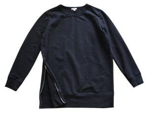 Gap Sweatshirts Sweatshirts Cotton Sweatshirts Long Sweatshirts Longer Length Top black
