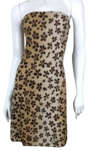 Moschino short dress Leopard on Tradesy