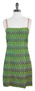 Nanette Lepore short dress Green Multi Color Paisley Paisley on Tradesy