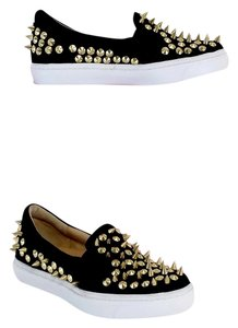 Jeffrey Campbell Black Gold Alva Spike Formal