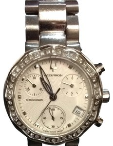 bulova accutron Authentic Bulova Accutron 54 Real Diamond Chronograph Watch