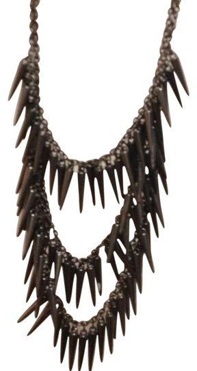 Preload https://item5.tradesy.com/images/macy-s-steel-spike-necklace-130874-0-0.jpg?width=440&height=440