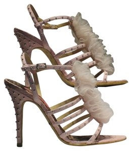 Betsey Johnson Pale Pink Sandals