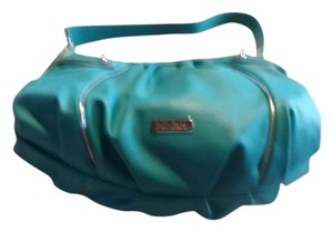 Nine & Co. New Fashionable Satchel in blue with silver accent
