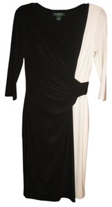 Ralph Lauren Formal Party Two-tone Evening Dress