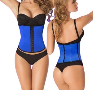 Colombian Waist Cinchers Top Pink,Blue,Black,Purple,Nude