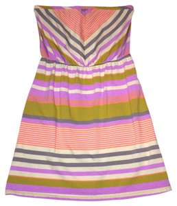 Mossimo Supply Co. short dress Multi-Color Short Chevron Xs on Tradesy