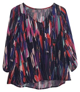 Ella Moss Top Multi