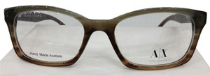 A|X Armani Exchange Armani Exchange Plastic Ax232 eyeglasses color 0D9K AZURE BROWN