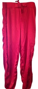 Victoria's Secret Athletic Athletic Pants Red
