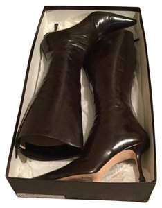 Jimmy Choo $995 Leather Brown Boots
