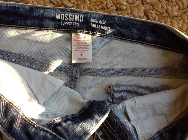Mossimo Supply Co. Jean Jean Jeans Cut Off Shorts White Washed