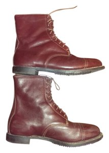 On Course Leather Equestrian Paddock Burgandy Boots