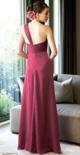 Belsoie Peony Chiffon Formal Bridesmaid/Mob Dress Size 2 (XS)