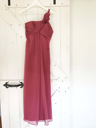 Belsoie Peony Chiffon Formal Bridesmaid/Mob Dress Size 2 (XS) Image 2