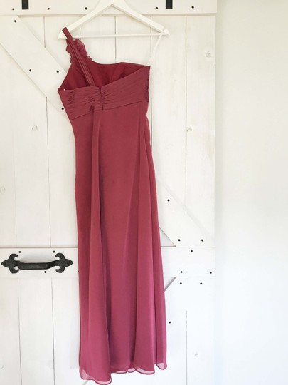 Belsoie Peony Chiffon Formal Bridesmaid/Mob Dress Size 2 (XS) Image 4