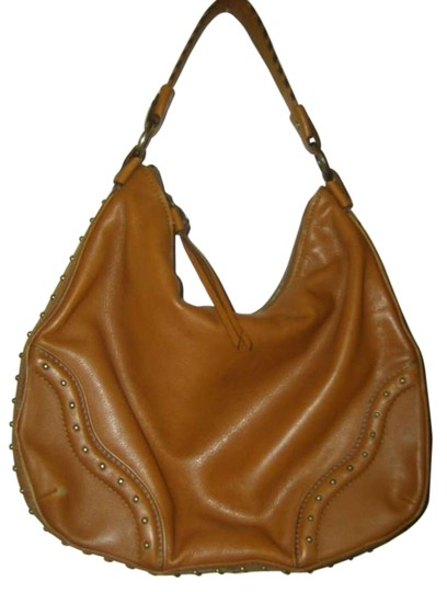 Preload https://item2.tradesy.com/images/michael-kors-cognac-leather-shoulder-bag-130906-0-1.jpg?width=440&height=440