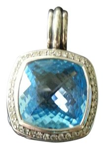 David Yurman SALE!!! David Yurman Large Albion Blue Topaz Pendant/Enhancer
