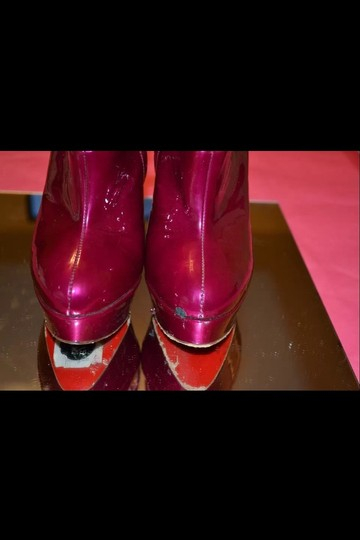 Christian Louboutin Pink Boots