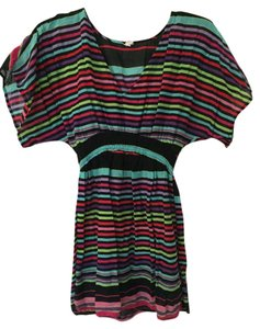 Xhilaration Color-blocking Boho Print Tunic