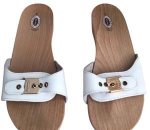 e99f0bd495cc White Dr. Scholl s Sandals - Up to 90% off at Tradesy