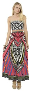 Flying Tomato Maxi Skirt multi