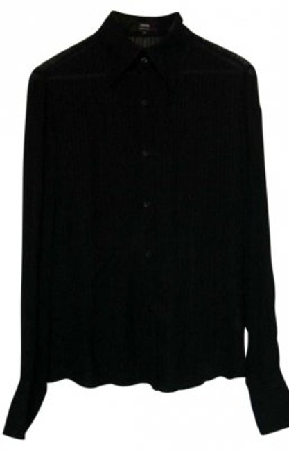 Preload https://img-static.tradesy.com/item/130915/black-made-in-italy-button-down-top-size-6-s-0-0-650-650.jpg
