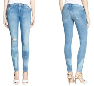 Mother Skinny Jeans-Distressed