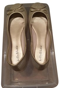 Kelly & Katie Gold Flats