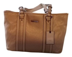Dana Buchman Stylish Useful Satchel in beige