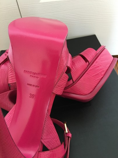 Saint Laurent Bubblegum Pink Sandals