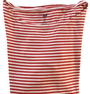 H&M T Shirt Red