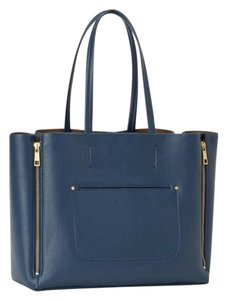 Ann Taylor Tote in Dark Blue