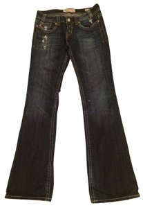 MEK DNM Distressed Oaxaca Non-altered Boot Cut Jeans