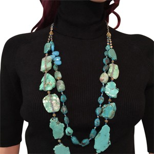 Lee Angel TURQUOISE NECKLACE
