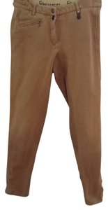 Equicomfort Riding Equestrian Suede Skinny Pants Brown