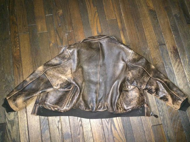 AVIREX Brown Bomber Jacket