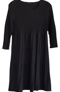 Eileen Fisher short dress Charcoal on Tradesy