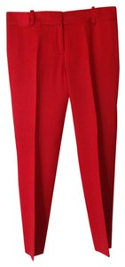 Ann Taylor Skinny Pants cherry red