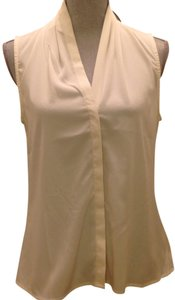 Banana Republic Sleeveless Top Cream