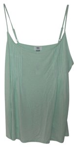 Old Navy Mint Cami Rayon Sleeveless Top Green
