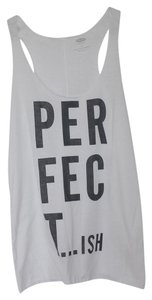 Old Navy Graphic Racerback Top White