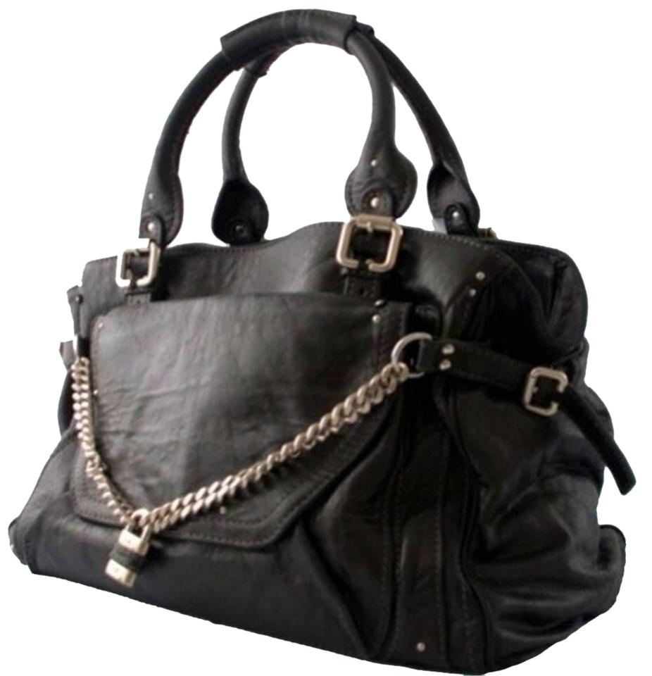 Chloé Chloe Paddington Large Black Tote Bag on Sale, 72% Off ...