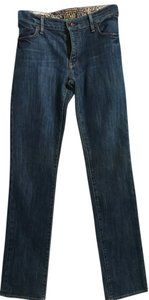 Rich & Skinny Size 30 Regular Straight Leg Jeans-Medium Wash