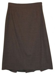 Elie Tahari Skirt Dark Tan